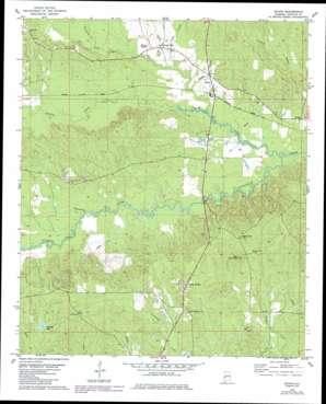 Jachin USGS topographic map 32088b2
