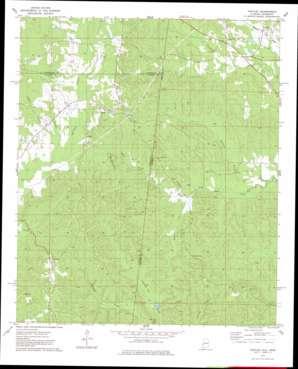 Yantley topo map