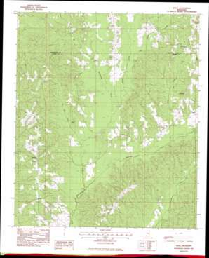 Snell topo map