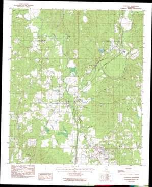 Stonewall topo map