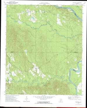 Whitfield topo map