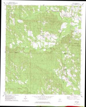Ward topo map