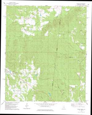 Whynot topo map