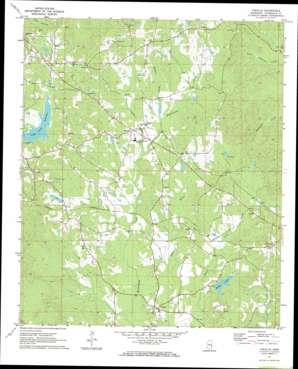 Vimville topo map