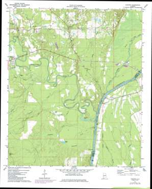 Coatopa USGS topographic map 32088d1