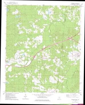Kewanee topo map