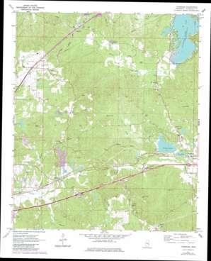 Toomsuba USGS topographic map 32088d5