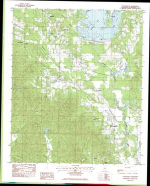 Collinsville topo map