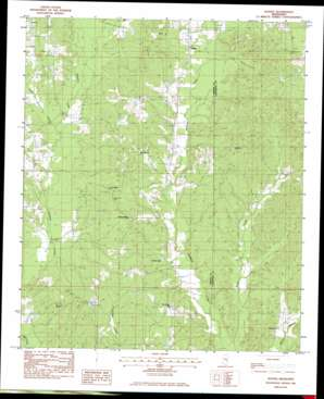 Duffee USGS topographic map 32088d8