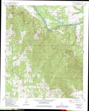 Brewersville topo map