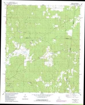 Tamola topo map