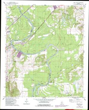 Epes East topo map