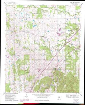 Epes West topo map