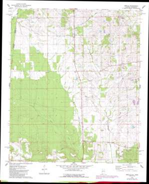 Emelle USGS topographic map 32088f3