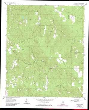 Oak Grove USGS topographic map 32088f5