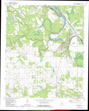 Gainesville topo map