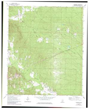 Townsend topo map