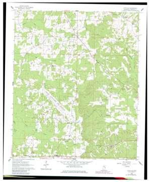 Lynville topo map