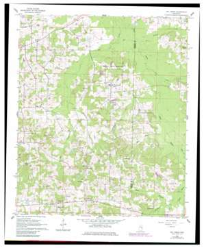 Owl Creek topo map