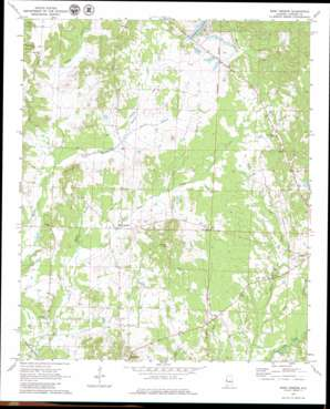 West Greene topo map