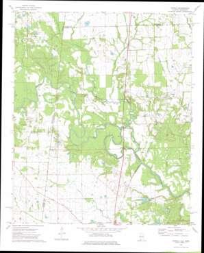 Panola USGS topographic map 32088h3