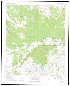Paulette topo map