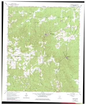 Gholson topo map