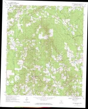 Montrose South topo map