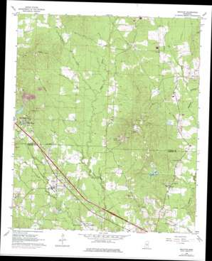 Braxton USGS topographic map 32089a8