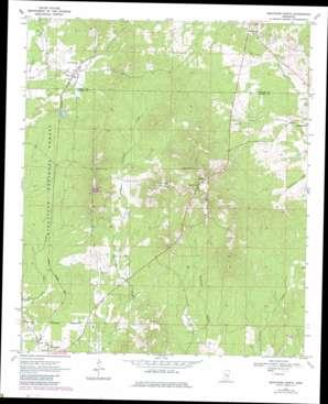Montrose North topo map