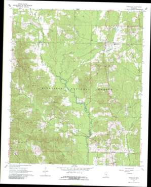 Pineville topo map
