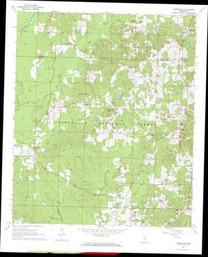 Homewood topo map