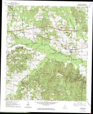 Hickory topo map