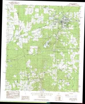 Morton topo map
