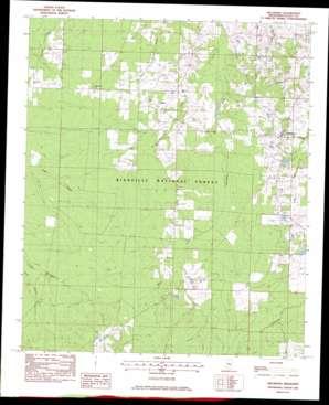Hillsboro topo map