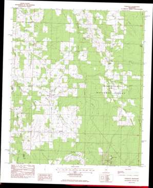 Forkville topo map