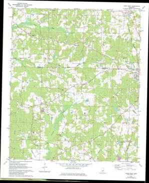 Union West topo map