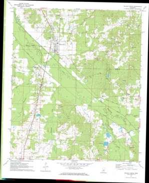 Walnut Grove topo map