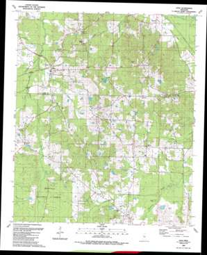 Lena USGS topographic map 32089e5