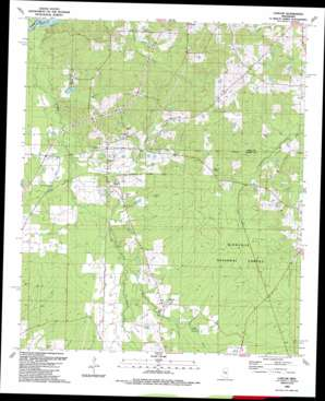 Ludlow topo map