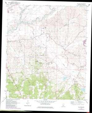 Mcafee topo map