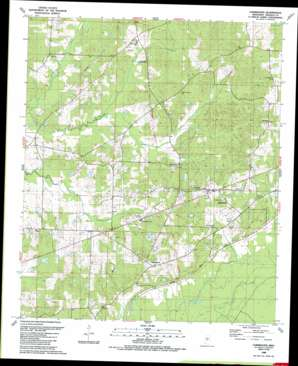 Farmhaven topo map