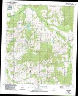 Sharon topo map
