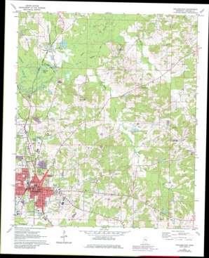 Philadelphia USGS topographic map 32089g1
