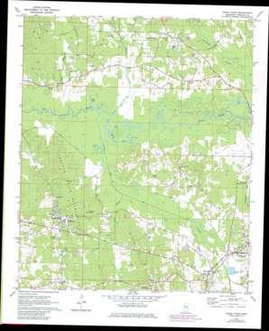Pearl River topo map
