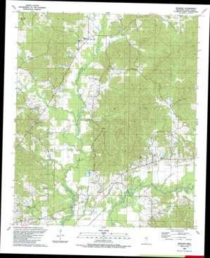 Renfroe USGS topographic map 32089g4