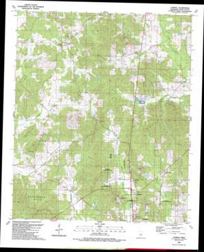 Conway topo map