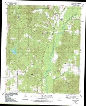 Thomastown topo map