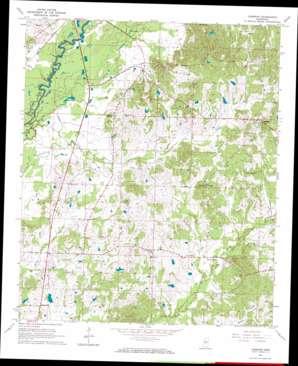 Cameron topo map