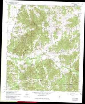 Newport topo map